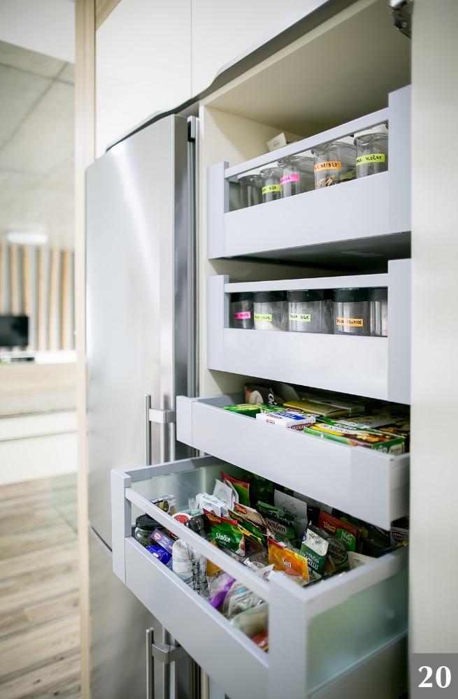 Snadný organizační a úložný systém do kuchyně