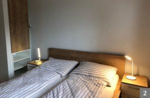 Ložnice na míru s vestavěnou skříní