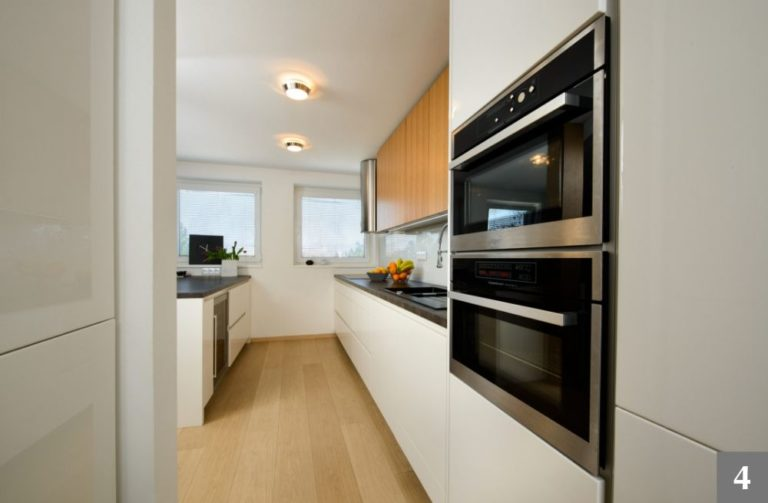 Zasazení spotřebičů do moderní kuchyně
