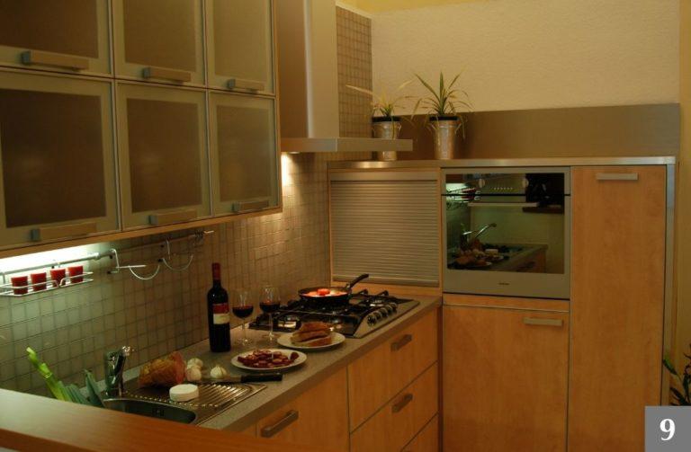 Moderní kuchyně s maximálním využitím úložného prostoru