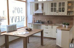 Rustikální kuchně s výraznými detaily ve studiu v Ostravě
