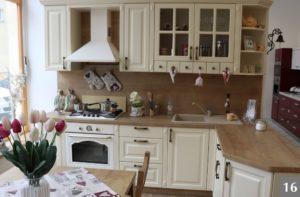 Rustikální kuchyně ve stylu Provence v Ostravě
