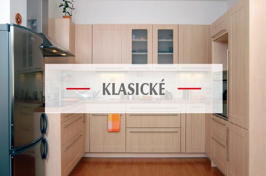 Klasické kuchyně na míru od firmy Válek & Kačena
