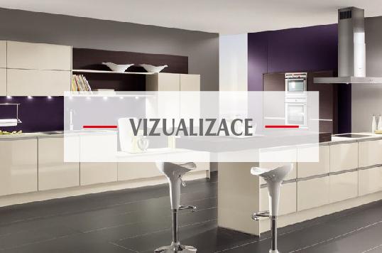 Vizualizace kuchyní od firmy Válek & Kačena