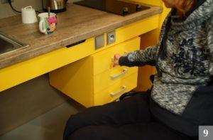 Designové kuchyně pro invalidy