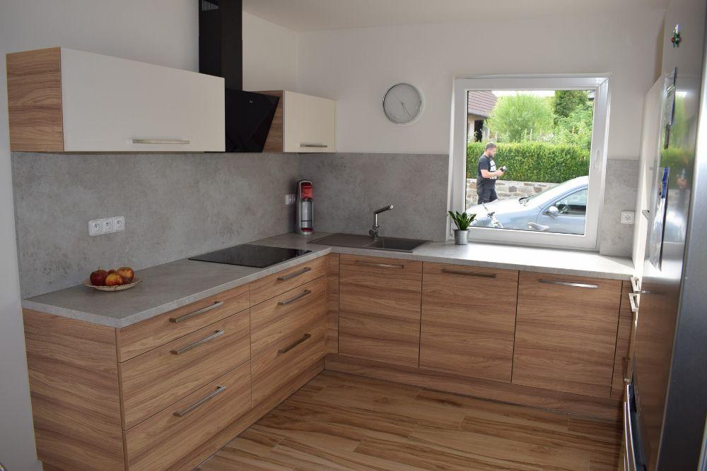 Nová kuchyně na míru od firmy Válek & Kačena