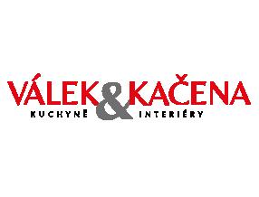 Logo firmy Válek & Kačna s průhledným pozadím